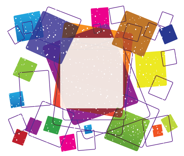 600x510 Free Vector Colorful Square Frame Free Design Psd Files, Vectors