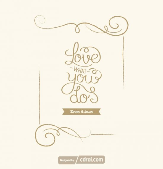 550x569 Vector Decorative Frame Design Template Free Download