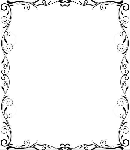 435x500 Vector Frame Png Transparent Vector Frame.png Images. Pluspng