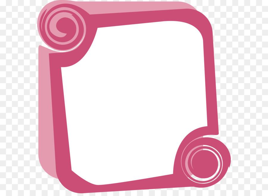 900x660 Vector Pink Frame Creative Design Diagram Png Download