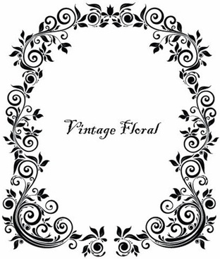 312x368 Vintage Mirror Frame Free Vector Download (11,562 Free Vector) For