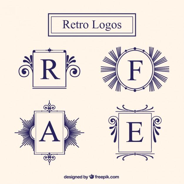 626x626 Vintage Frame Logos