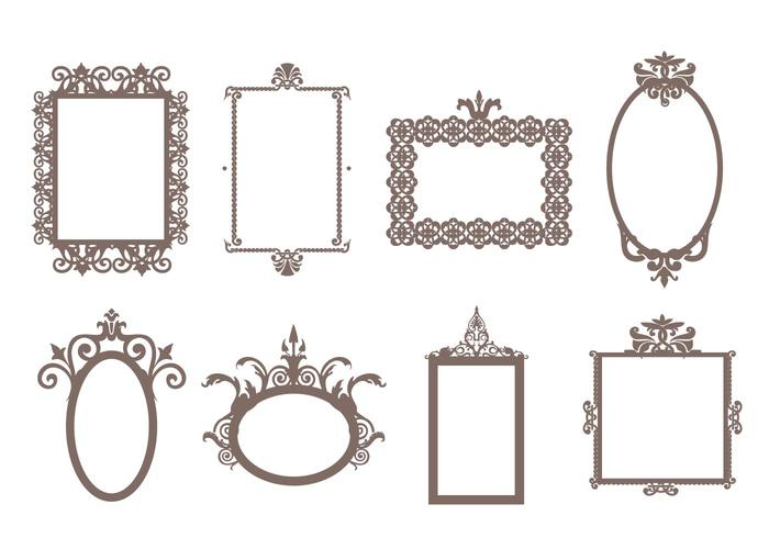 700x490 Decorative Frames Free Vector Art