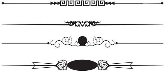 536x232 Fine Art Frame Vector Free Vector In Adobe Illustrator Ai ( .ai