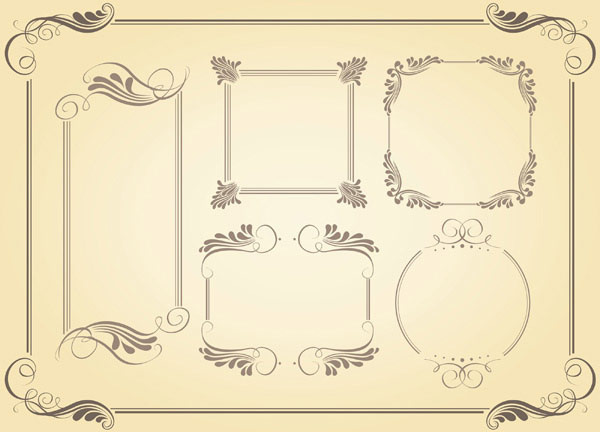 600x432 Classic Frame Vector Free Vector In Encapsulated Postscript Eps