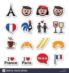 236x252 Fondo Transparente Con Francia Con El Mapa Y La Bandera Vector De