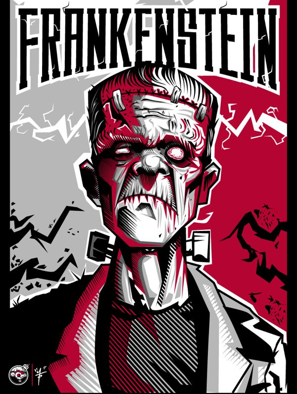 Frankenstein Vector Art
