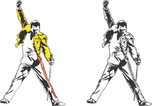 300x210 Freddie Mercury Tribute Logo Vector (.eps) Free Download