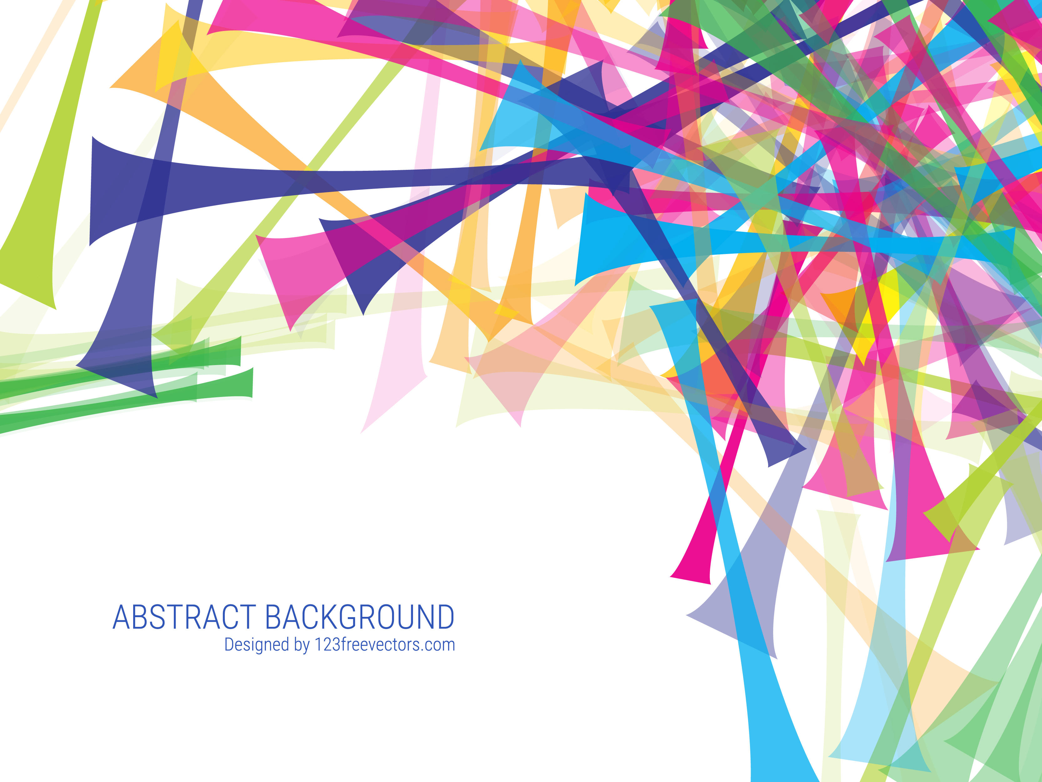 3333x2500 Colorful Abstract Background Vector Free 123freevectors