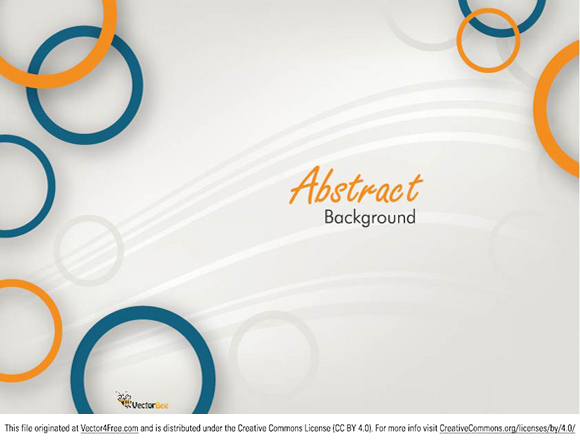 580x442 Free Vector Circle Abstract Background
