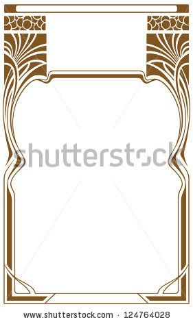 281x470 Art Nouveau Vector Borders Free Vector For Free Download About (3