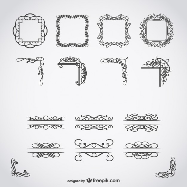626x626 Calligraphic Free Vector Art Vector Free Vector Download In .ai
