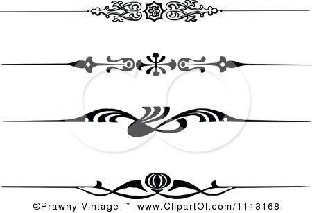 450x307 Clipart Vintage Black And White Decorative Art Deco Borders