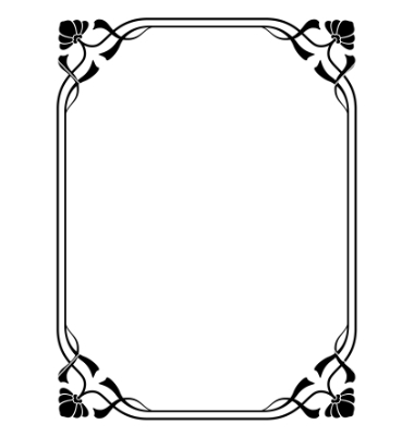 380x400 Frame Clipart Art Deco Free Collection Download And Share Frame