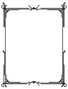 236x310 Free Download Art Deco Border Clipart For Your Creation. Art