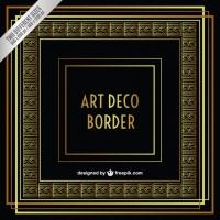 200x200 Art Deco Border Free Vector Graphic Art Free Download (Found