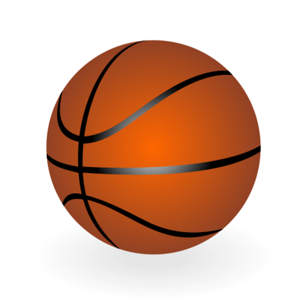 600x600 Basketball Vector X Free Images