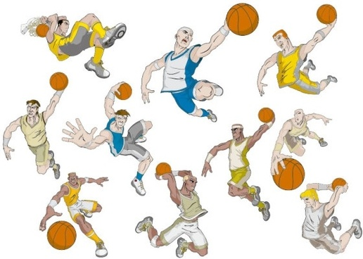 516x368 Basketball Free Vector Download (217 Free Vector) For Commercial