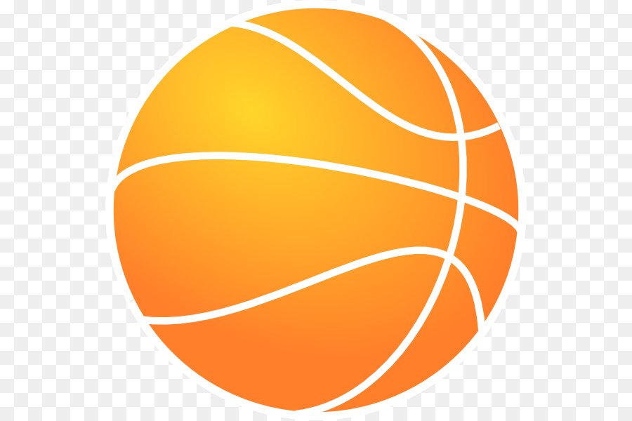 900x600 Outline Of Basketball Clip Art