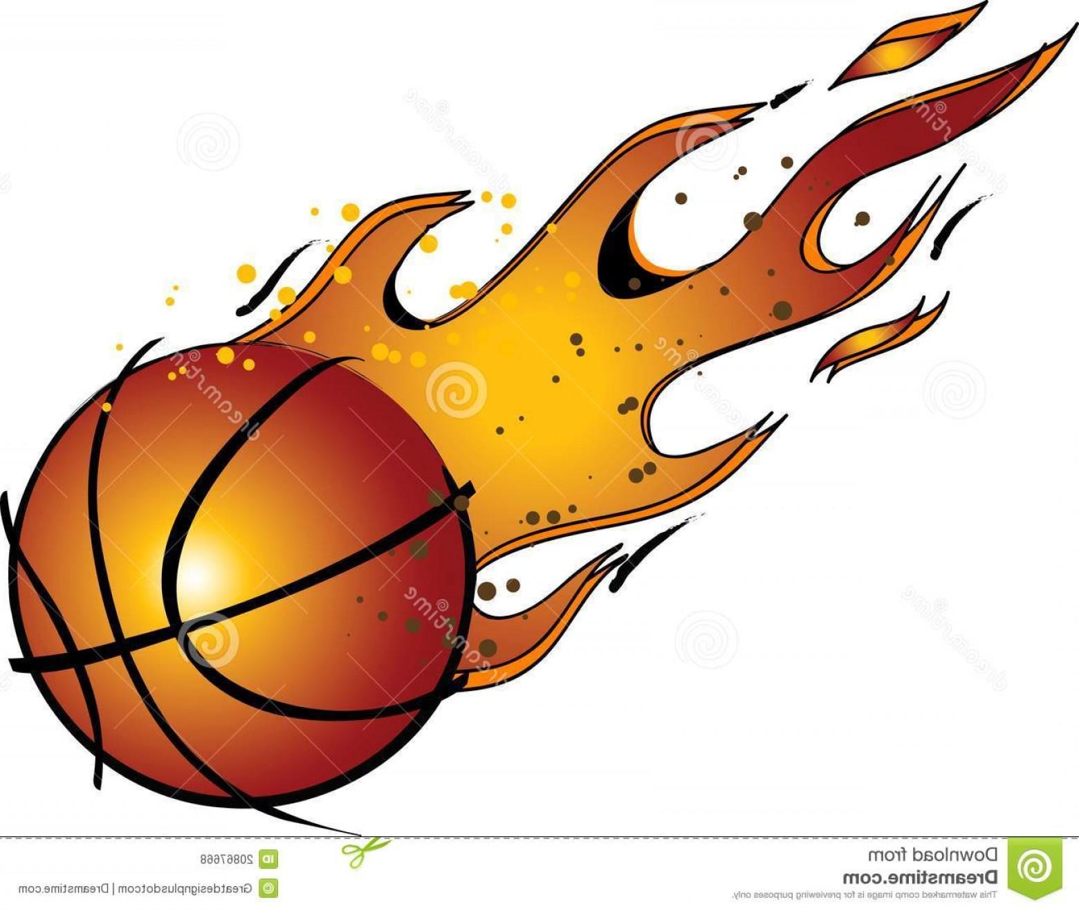 1560x1317 Royalty Free Stock Photos Flaming Basketball Vector Clip Art Image