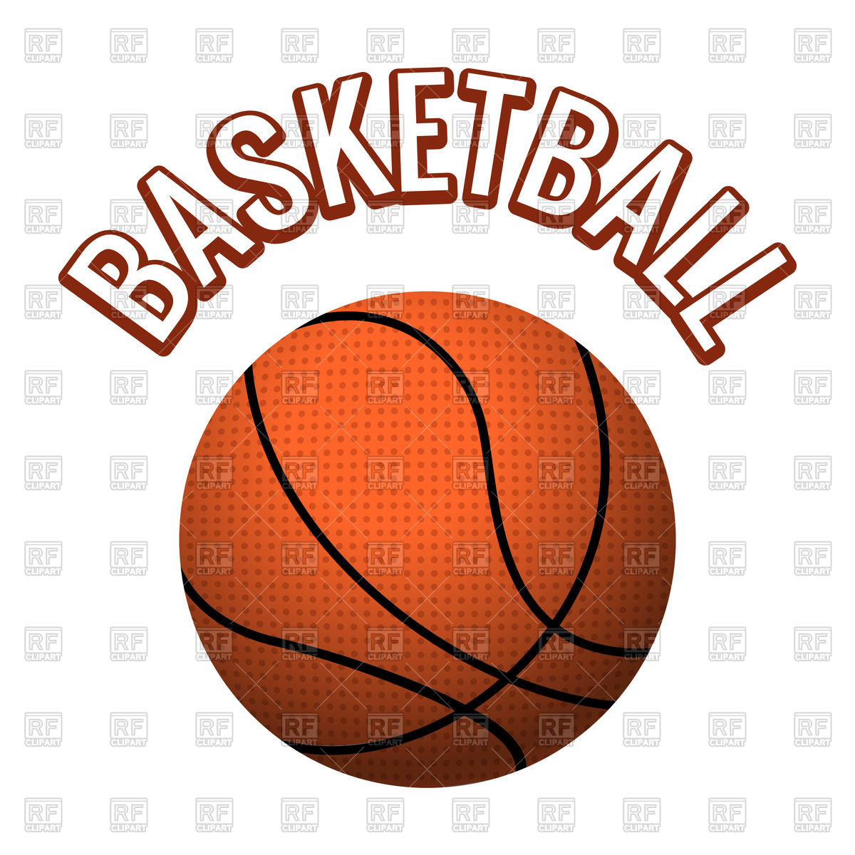 1200x1200 Textured Basketball Ball Isolated On White Background Vector Image