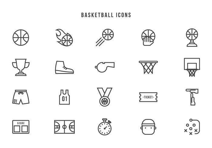 700x490 Basketball Hoop Free Vector Art