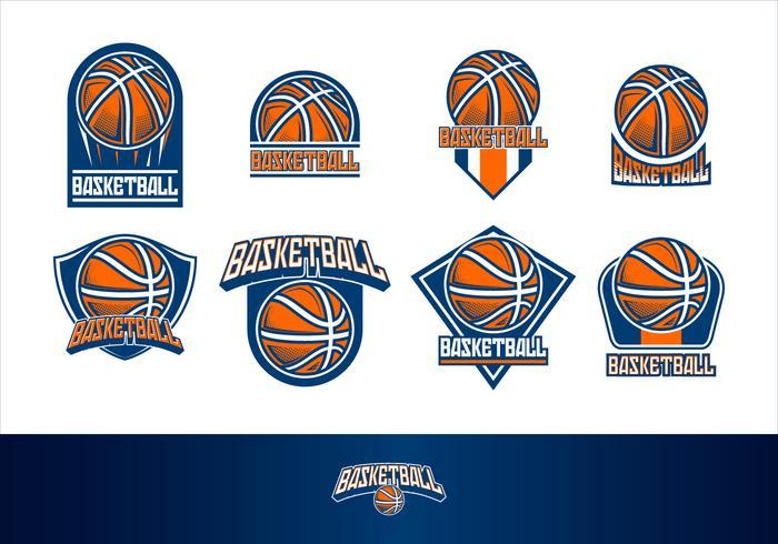 700x490 Basketball Logo Free Vector