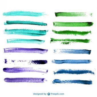 Free Brush Stroke Vector