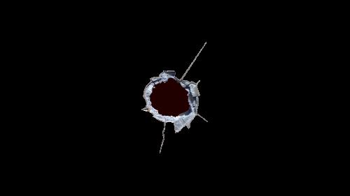 Free Bullet Hole Vector