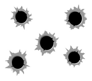 300x266 Bullet Hole Royalty Free Photos And Vectors