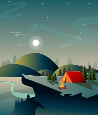 313x368 Camp Free Vector Download (166 Free Vector) For Commercial Use