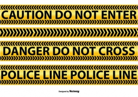 285x200 Caution Tape Free Vector Graphic Art Free Download (Found 424