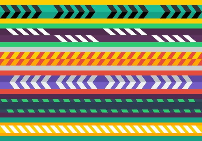 700x490 Free Colorful Caution Tape Vectors