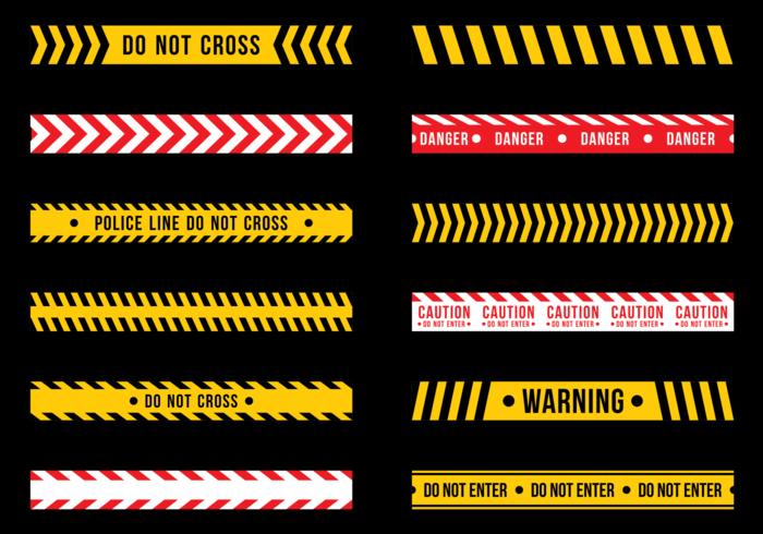 700x490 Free Vector Danger Tape