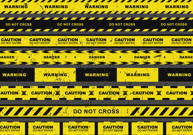 632x443 Grunge Danger Tape Vector Free Vector Download 431283 Cannypic