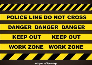 310x217 Police Line Tapes Free Vector Free Vectors Ui Download