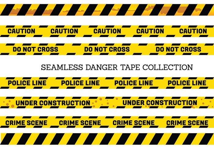 700x490 Vector Set Of Seamless Danger And Caution Tapes