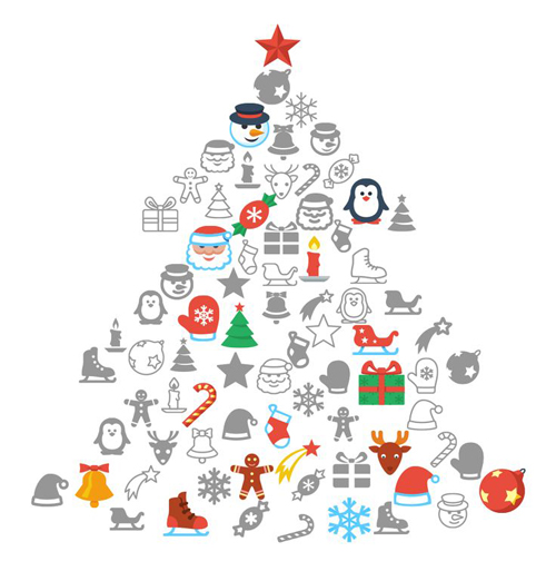 500x522 Christmas Vector Graphics Vector Graphics Graphic Design Junction