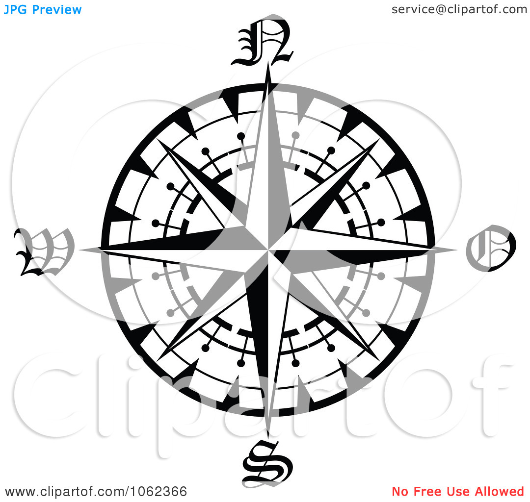1080x1024 Compass Clipart Compass Rose
