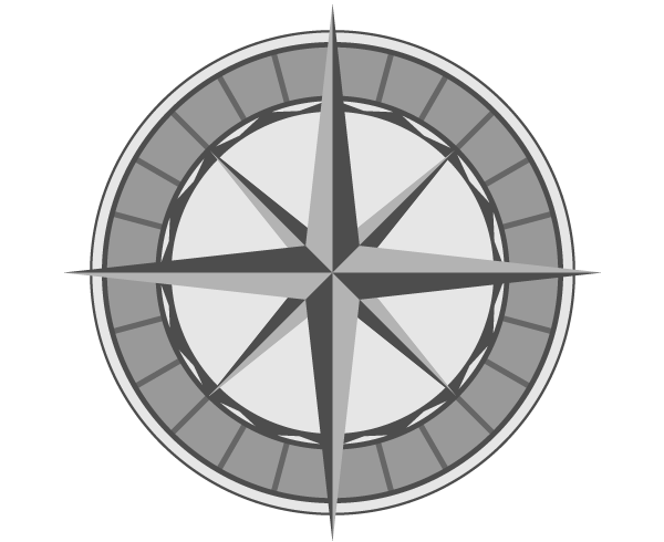 600x490 Free Vector Compass Rose 123freevectors