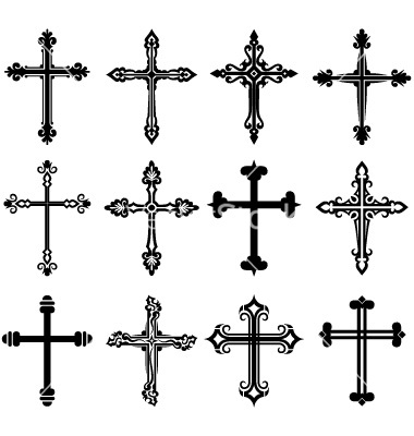 380x400 15 Cross Vector Free Images