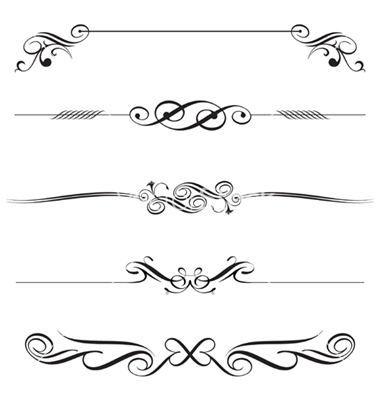 Free Decorative Vectors