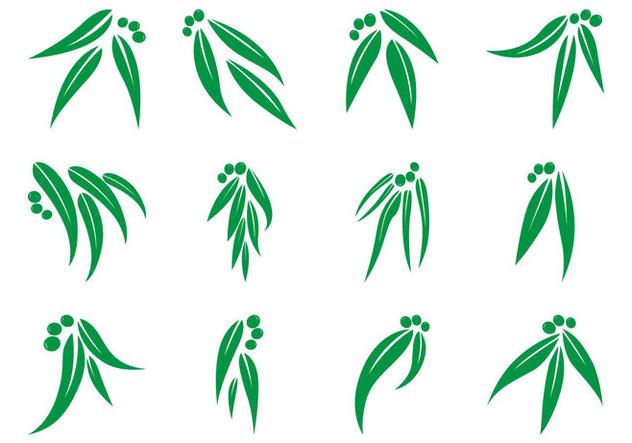 632x443 Free Eucalyptus Leaf Logo Vector Free Vector Download 370395