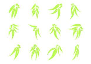 310x217 Eucalyptus Pattern Free Vectors Ui Download