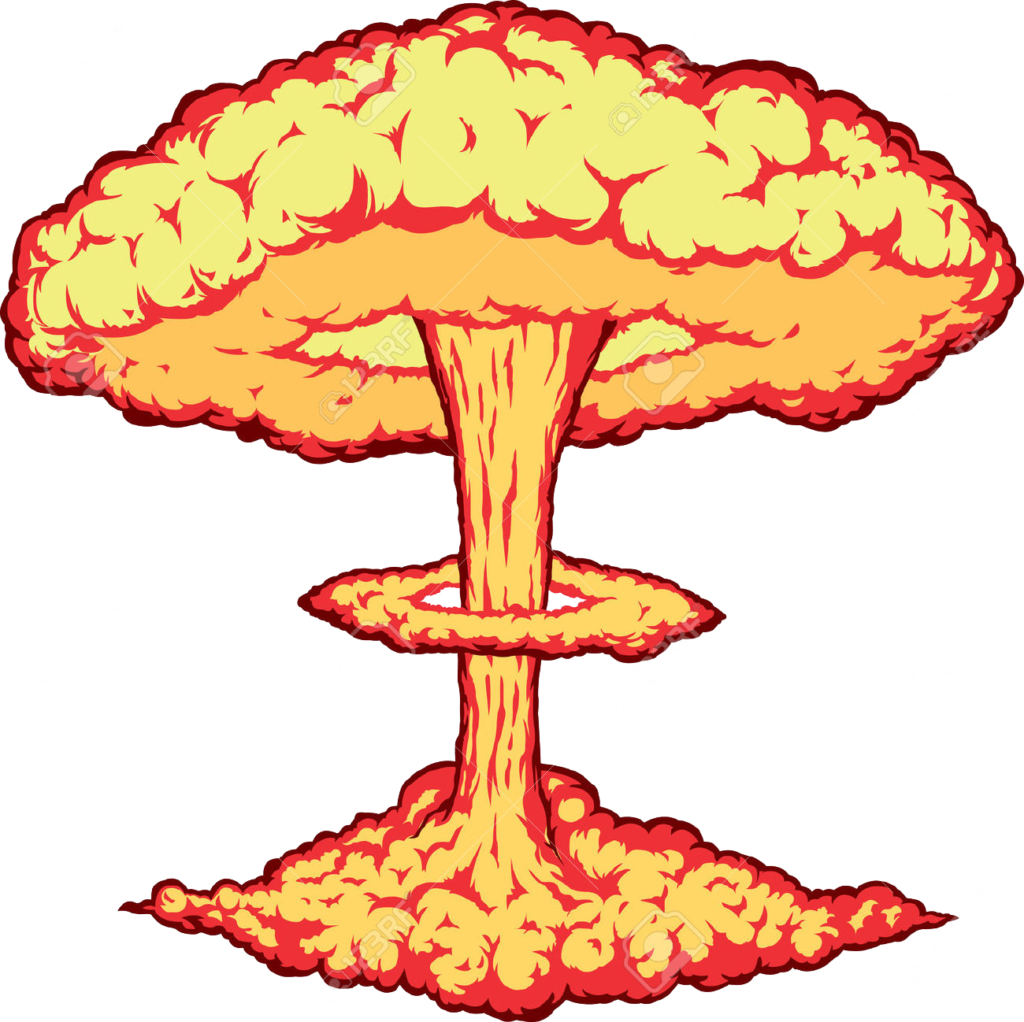 1024x1022 Collection Of Free Explosion Vector Atomic. Download On Ubisafe