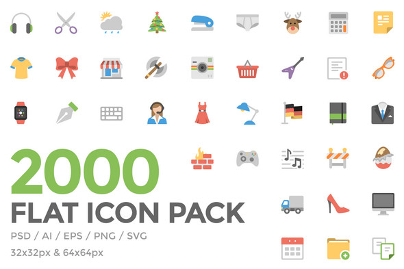590x393 60 Free Flat Icons In Different Shapes Psd, Vector