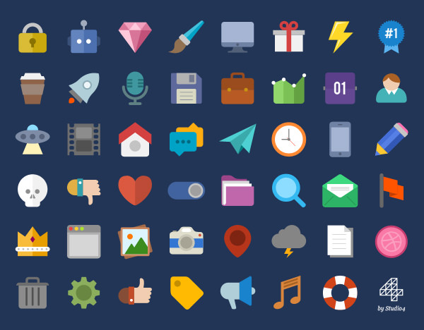 600x468 Design Flat Vector Icons Of Your Choice By Gauravsharma23