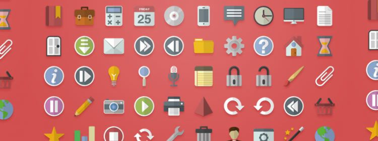 750x280 Top 50 Free Icon Sets From 2013
