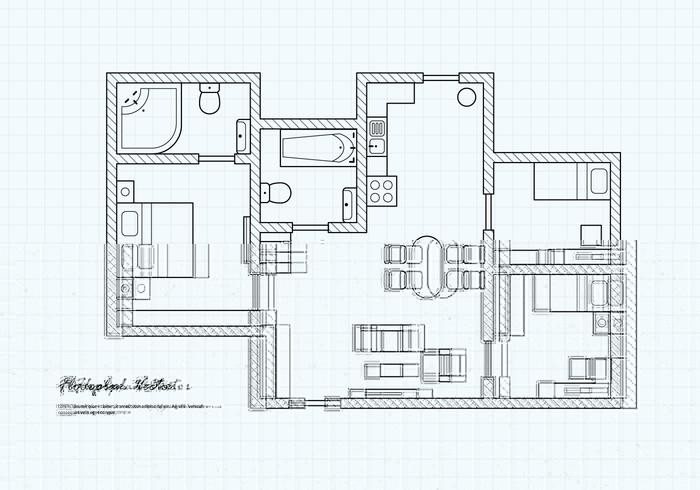 700x490 Tree House Condo Floor Plan Awesome Floor Plan Free Vector Art