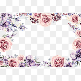 260x260 Floral Border Png, Vectors, Psd, And Clipart For Free Download